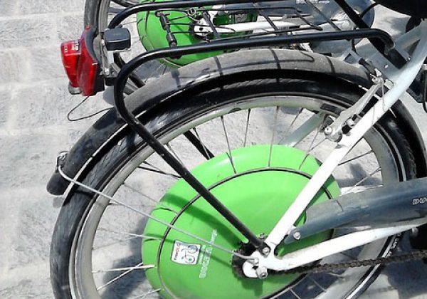 תאונה עם אופניים חשמליים